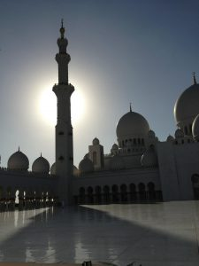 Abu Dhabi Mosque shadow