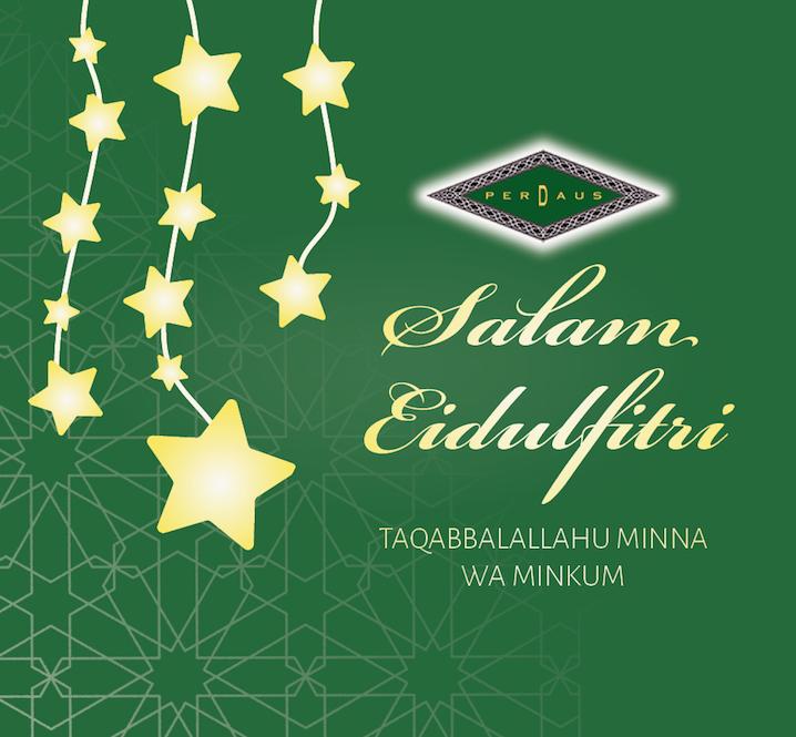 Eidulfitri Mubarak!