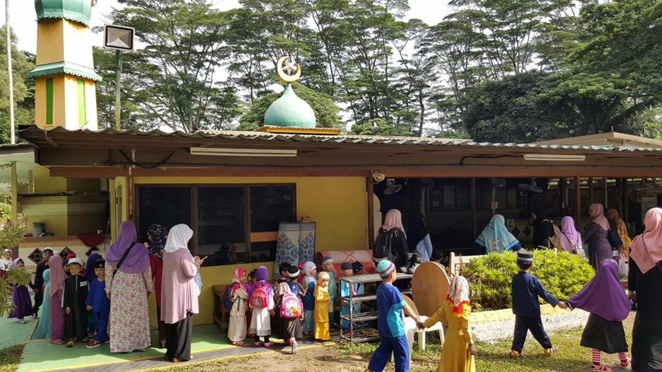 Iyad Perdaus visit Masjid Sembawang 2016